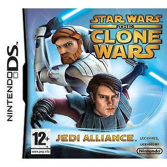 Star Wars The Clone Wars Jedi Alliance (Nintendo DS)-nya
