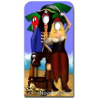 Pirata coppia controfigura