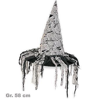 Pălărie zombie Witch vrăjitoare Halloween gri