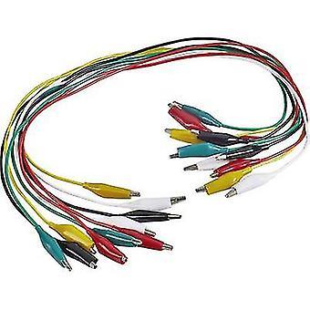 اختبار فولتكرافت KS-540/0.5 يؤدي كيت [محطات-محطات] 0.54 م أسود، أحمر، أصفر، أخضر، أبيض