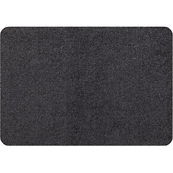 Salon lion mini matte anthracite washable small foot mat