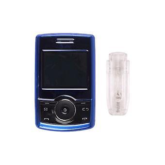 Klikvaste Case voor Samsung SGH-A767 voortbewegen - blauw
