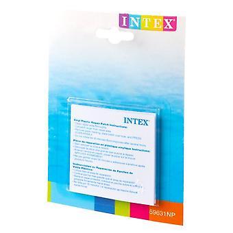 Intex itse kiinni pysyvä vinyyli muovinen puhallettava korjaus Patch - 6 kpl