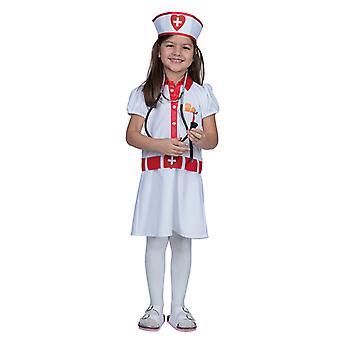 Krankenschwester Kleid Kostüm für Kinder