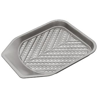 Judge Bakeware, Perforated Chip Tray, 28 X 28 X 2.5cm, (10� X 11inch X 1inch)