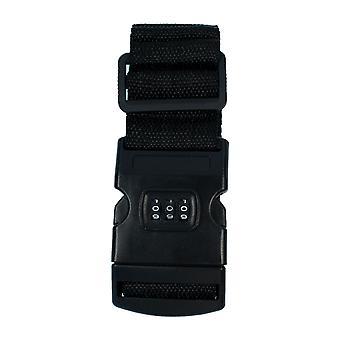 TRIXES Black Combination bagage riemen verstelbaar