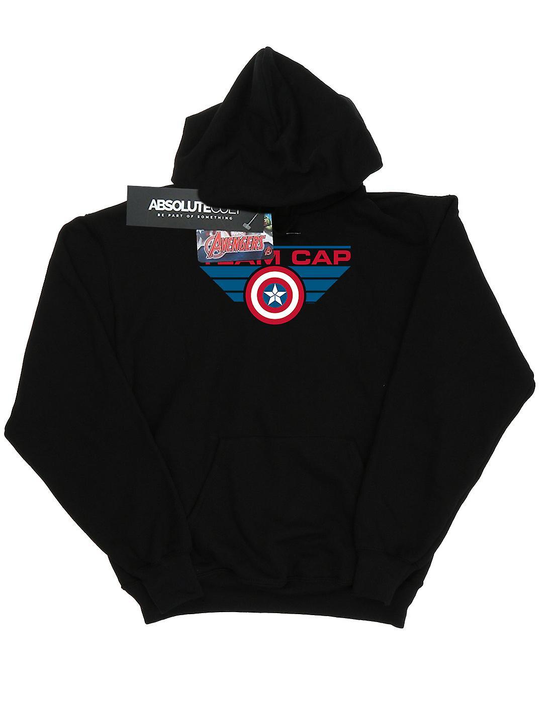 Marvel Men's Captain America Civil War Team Cap Hoodie