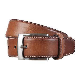 SAKLANI & FRIESE belts men's belts leather belt Brown 1795