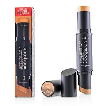Smashbox Studio Skin Shaping Foundation + Soft Contour Stick - # 2.4 Cool Beige - 11.75/0.4oz