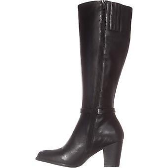 Giani Bernini Womens RAIVEN2 lederen amandel teen knie High Fashion laarzen
