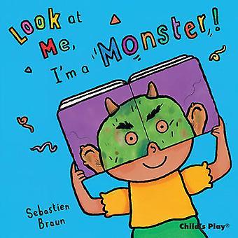 Jag är ett Monster! av Sebastian Braun - Anna Nilsen - 9781846434709 bok