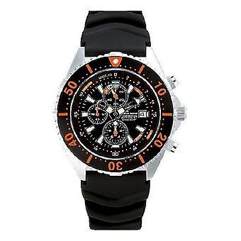 CHRIS BENZ - Diver watch - DEPTHMETER CHRONOGRAPH 300M - CB-C300-O-KBS