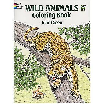 Vilda djur färgning bok (Dover naturen målarbok)