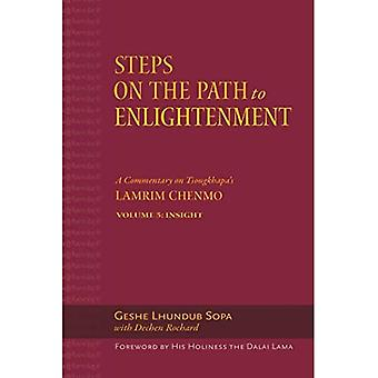 The Steps on the Path to Enlightenment