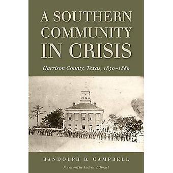 Eine südliche Gemeinschaft in der Krise: Harrison County, Texas, 1850-1880