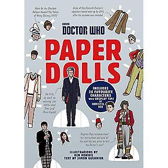 Poupées en papier Doctor Who