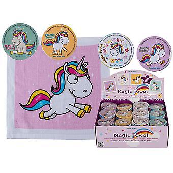 2-Pack Unicorn Mini Handduk  30*30cm