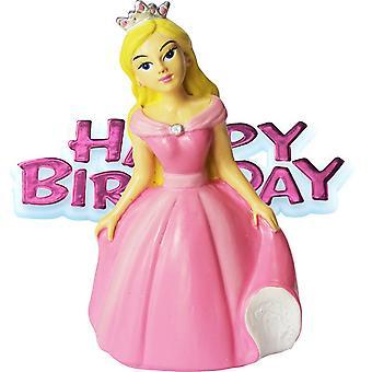 Creative Party Princess & Motto Cake Topper