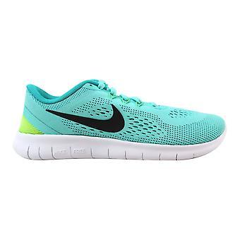 Nike Free RN Hyper Turquoise/Black-Clear Jade 833993-300 Grade-School
