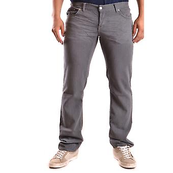 John Richmond Ezbc082038 Men's Grey Cotton Jeans