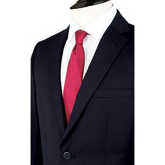 Dobell Mens Navy dressjakke passer vanlig hakk jakkeslaget