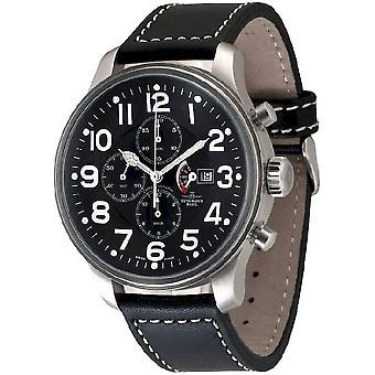 Zeno-watch mens watch gigante Chrono power reserve 10557TVDPR-a1