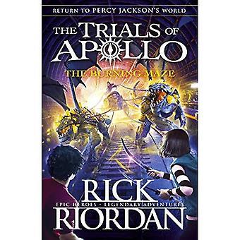 The Burning Maze (de prövningar av Apollo Book 3) (de prövningar av Apollo)