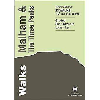 Walks Malham and the Three Peaks by Richard Hallewell - 9781872405445