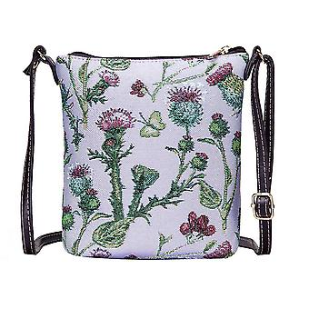 Thistle shoulder sling bag by signare tapestry / sling-this