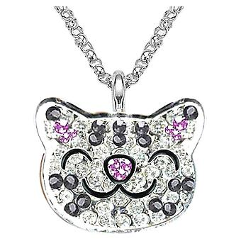Big Bang Theory Soft Kitty Crystal Ring Necklace