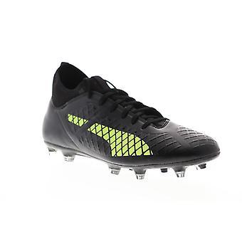 Puma Future 18,3 FG AG mens zwarte lage top atletische Soccer cleats schoenen