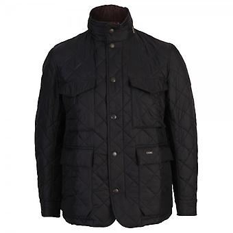 Barbour Quilted Grayson Jacket, Navy