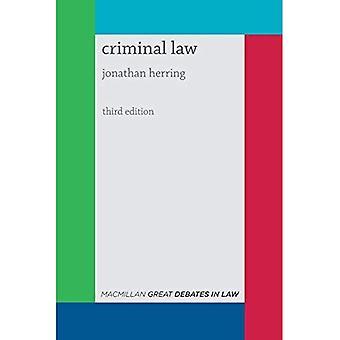 Great Debates in Criminal Law (Palgrave Great Debates in Law)