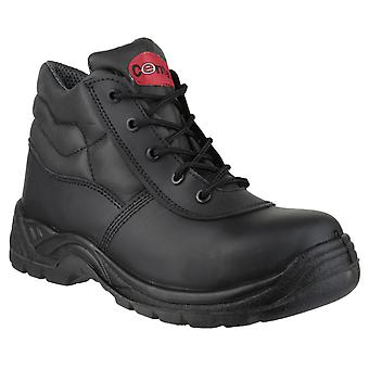 Centek Mens FS30C Lace-up Safety Boot Black