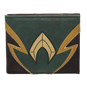 Wallet - Aquaman - Chrome Weld Patch Bi-fold New mw65ysjlm