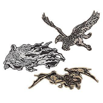Pin set-Harry Potter-revers nieuwe lp6knkhpt