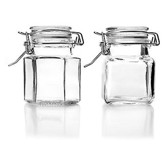 Ibili Mini Jar Assortment Square / Hexagonal (Kitchen , Kitchen Organization , Pots)