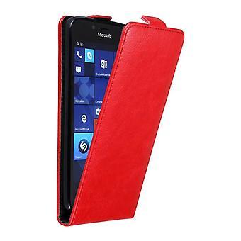 Cadorabo Hülle für Nokia Lumia 950 Case Cover - Handyhülle im Flip Design mit Magnetverschluss - Case Cover Schutzhülle Etui Tasche Book Klapp Style
