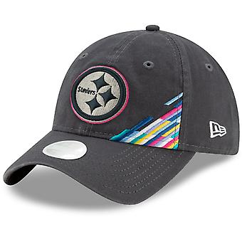 New Era 9Forty Women's Cap - CRUCIAL CATCH Pittsburgh Steelers