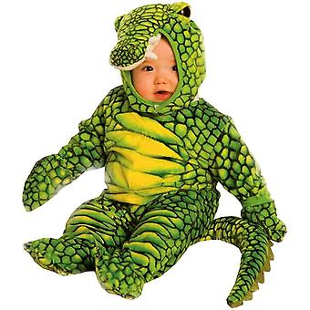 Green Alligator Toddler Costume