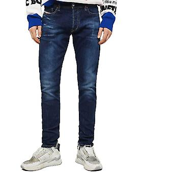 Diesel Tepphar 083AT Slim Fit Carrot Jeans  Dark