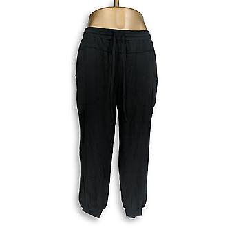 Anybody Women's Petite Lounge Pants SP Cozy Knit Black A349794