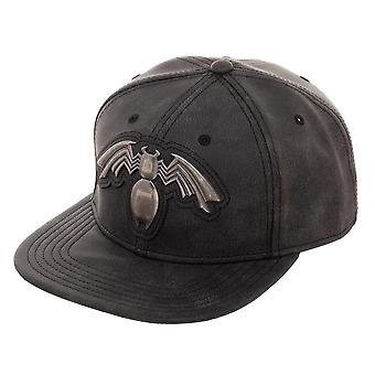 Baseball Cap - Venom - Distressed PU Snapback New Licensed sb6yiemvu