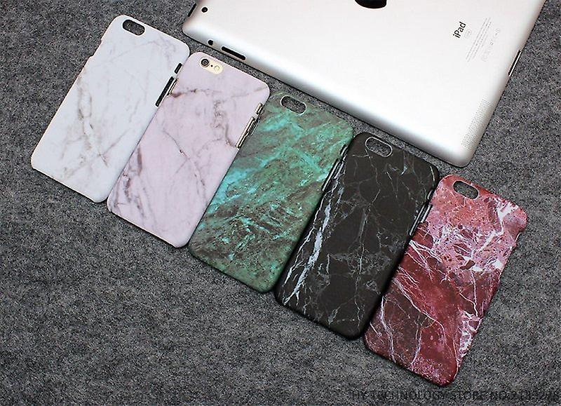 Iphone 6 + / 6S + Plus Marble Cover Case Green