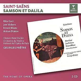 Pretre / Opera De Paris / Gorr / Vickers - Saint-Saens: Samson Et Dalila [CD] USA import