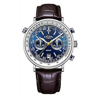 Obrotowy GS05235-05 Zegarek męski i apos;s Henley Chronograph