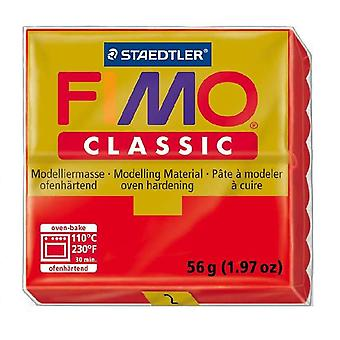 FIMO Classic Polymer Clay 56g Classic Red (2)
