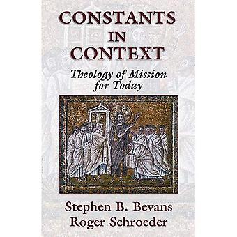 Konstanter i sammanhanget: en teologi Mission för idag (American Society of Missionsvetenskap)