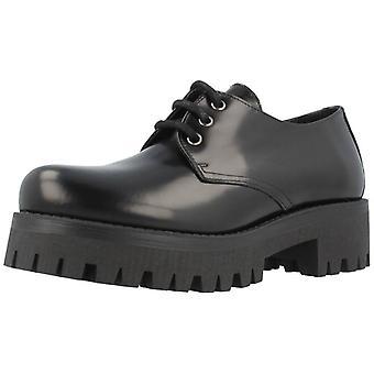 Alpe casual schoenen 1480 zwarte kleur