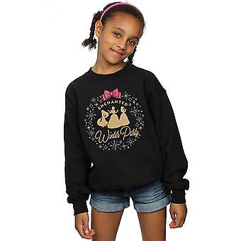 Disney Girls Princess Enchanted Winter Party Sweatshirt